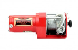 Troliu DRAGON WINCH 2500ST cablu din otel 12V