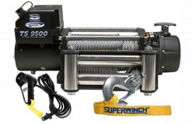 Superwinch Tigershark 9500 cablu din otel 12V