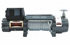 Troliu DRAGON WINCH 9000HD cablu din otel 12V