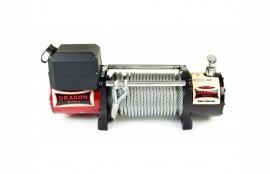Troliu DRAGON WINCH 10000HD cablu din otel 12V